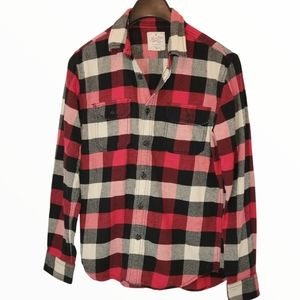 American Eagle Heritage Flannel Size Small